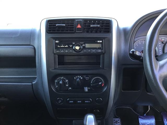 XC キーレスエントリー 2WD 4WD 4WD-L切替 フォグランプ バイザー フロアマット 電格ミラー スペアタイヤ アルミホイール コインケース オートパワーウィンドウ CD AM FMラジオ(38枚目)