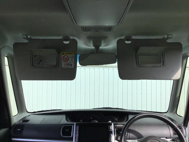 UVカットガラス!バニティーミラー付サンバイザー!お化粧直しに便利なバニティミラー。運転席助手席両方に鏡が付いています。