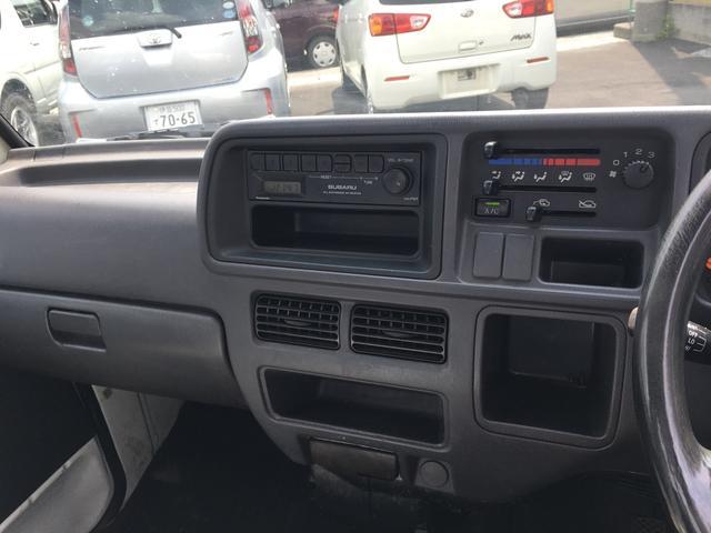 スバル サンバートラック 5速MT エアコン 4WD