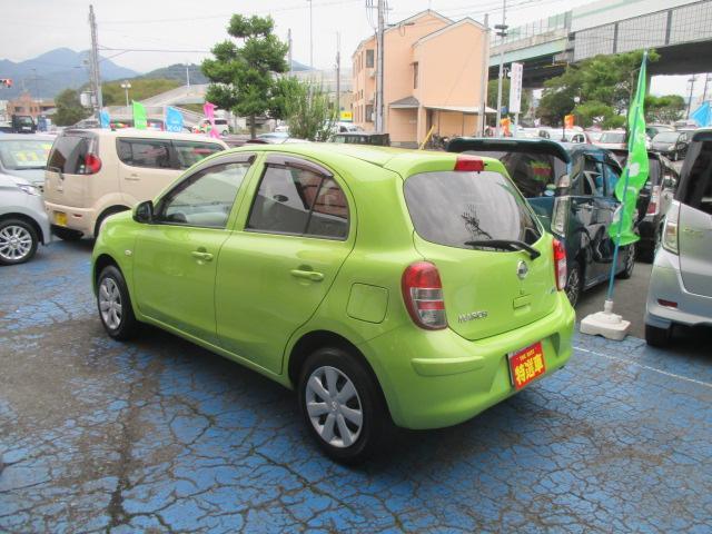 「日産」「マーチ」「コンパクトカー」「静岡県」の中古車5