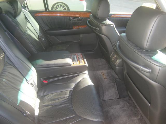 トヨタ セルシオ C仕様 Fパッケージ 黒革マルチSR Sキー ウッドコンビH
