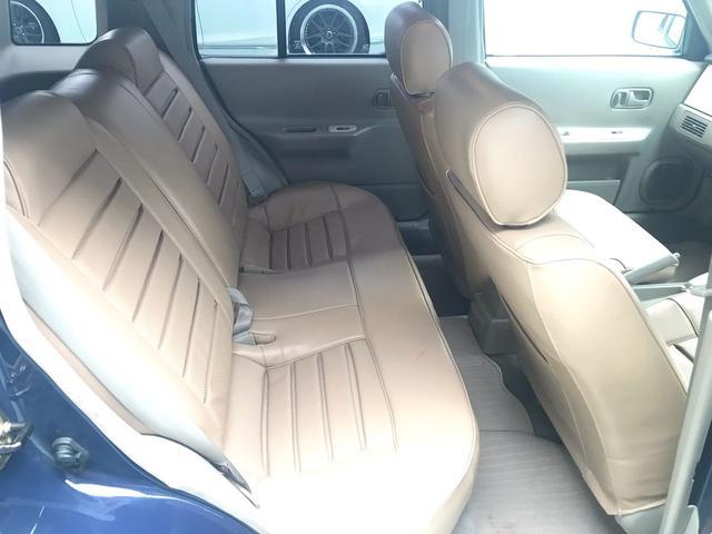 タイプII 4WD サンルーフ ベージュ革調シートカバー(13枚目)