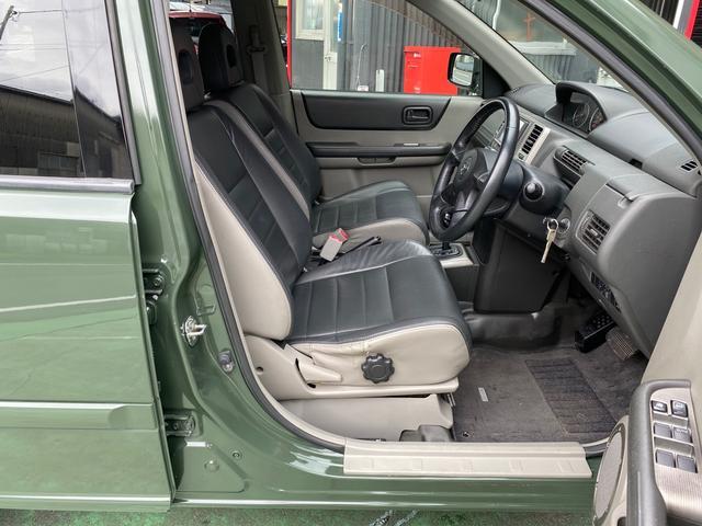 X 4WD アーミーグリーン全塗装済 ブラックバンパー 16インチアルミホイール HDDナビ DVD再生 走行中OK ETC キーレス 撥水カブロンシート  ウォッシャブルラゲッジボード(32枚目)