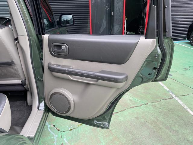 X 4WD アーミーグリーン全塗装済 ブラックバンパー 16インチアルミホイール HDDナビ DVD再生 走行中OK ETC キーレス 撥水カブロンシート  ウォッシャブルラゲッジボード(35枚目)