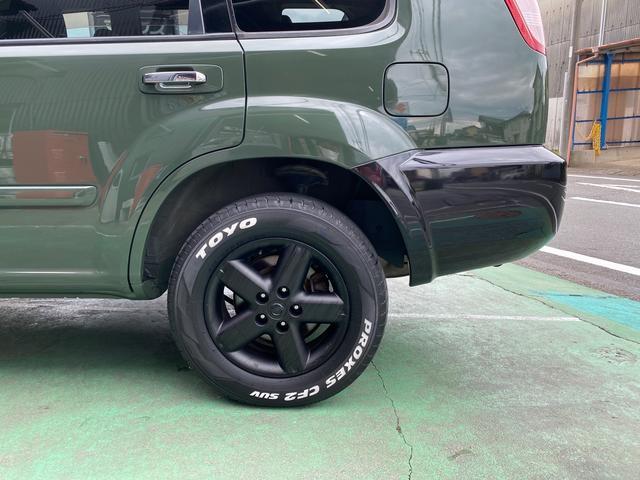 X 4WD アーミーグリーン全塗装済 ブラックバンパー 16インチアルミホイール HDDナビ DVD再生 走行中OK ETC キーレス 撥水カブロンシート  ウォッシャブルラゲッジボード(41枚目)