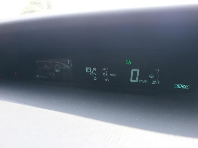 こちらがセンターに設置されたメーター!走行距離やスピードの表示はもちろん!充電状況や各種インフォメーションが表示されます!センターにあるので確認しやすい!