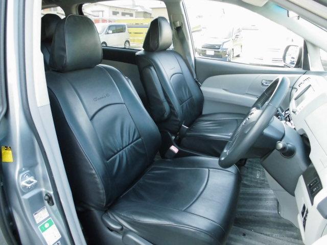 トヨタ エスティマ アエラス Sパッケージ 純正HDDナビ 両側Pスライドドア