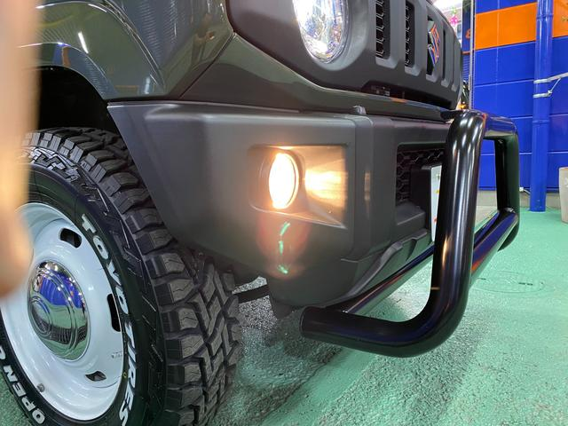 XC 届出済未使用車 新品ホイール&オープンカントリー 新品バンパーガード LEDオートヘッドライト&フォグランプ オートクルーズコントロール レーンアシスト ステアリングスイッチ シートヒーター左右(43枚目)