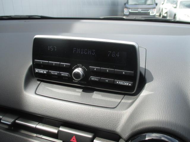 マツダ デミオ 13C AM/FM USB端子付 プッシュエンジンスタート