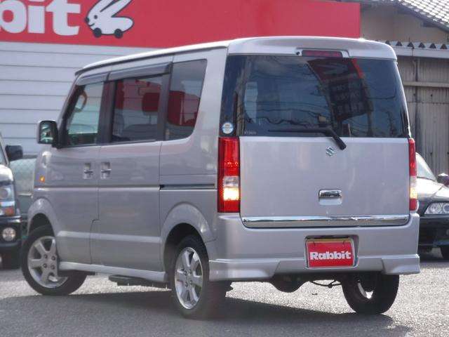 スズキ エブリイワゴン PZターボスペシャル 1オーナー HDDナビ 両側パワスラ