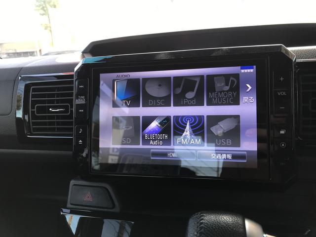 GターボSAII 9インチメモリーナビフルセグTV バックカメラ 両側パワースライドドア Bluetooth 純正アルミ スマートキー プッシュスタート オートエアコン 衝突軽減ブレーキ ETC(9枚目)