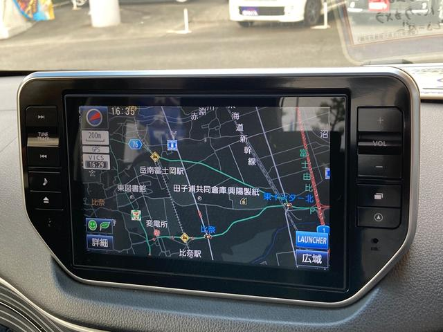 カスタム X ハイパーSA 9インチSDナビフルセグTV Bluetooth 軽自動車 ETC 衝突被害軽減システム バックカメラ AW 4名乗り オートライト スマートキー プッシュスタート オートエアコン USB ドラレコ(6枚目)