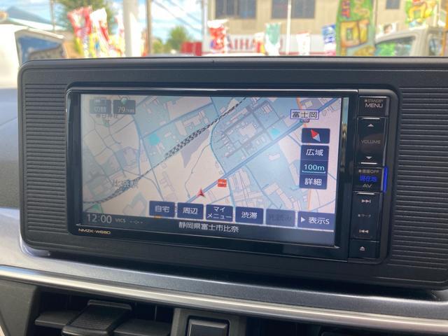 アクティバX SAIII メモリーナビフルセグTV Bluetooth バックカメラ スマートキー プッシュスタート オートライト オートエアコン フォグ 軽減ブレーキ(3枚目)