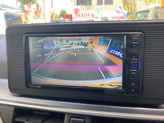 アクティバX SAIII メモリーナビフルセグTV Bluetooth バックカメラ スマートキー プッシュスタート オートライト オートエアコン フォグ 軽減ブレーキ(4枚目)
