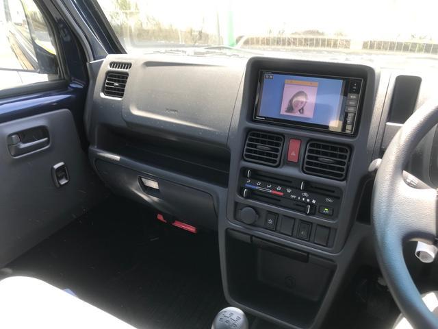 X 5速マニュアル SDナビフルセグTV 軽トラック(13枚目)