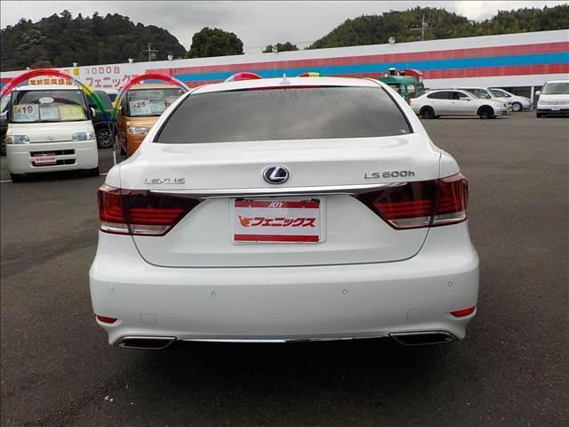 LS600hFスポーツ本革シート衝突軽減レーダークルーズ(9枚目)