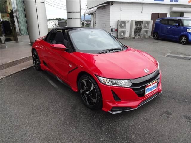 「ホンダ」「S660」「オープンカー」「山梨県」の中古車48
