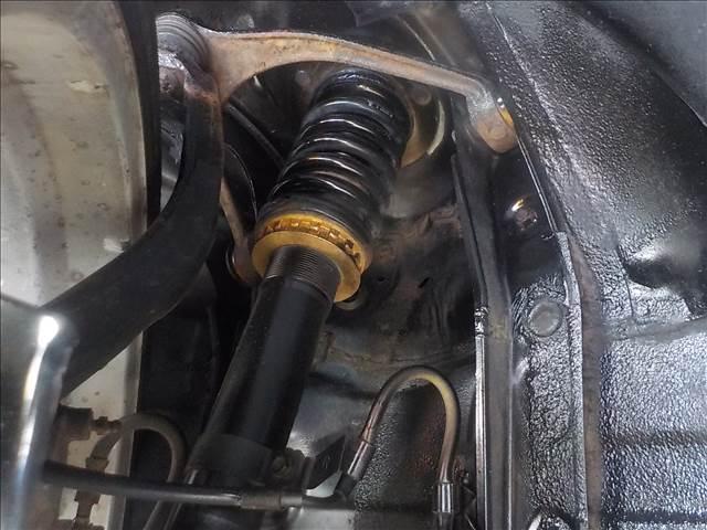 430SCV ノーブルカラーエディション レクサスSC430仕様 純正ナビ マークレビンソン 赤本革パワー&シートヒーター EDフォースコントロール付きTEIN車高調 ブリッツマフラー HIDヘッド クルーズコント 電動オープン(28枚目)