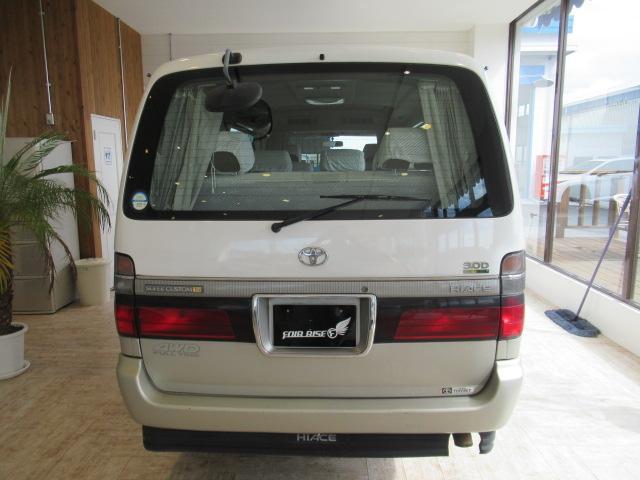 トヨタ ハイエースワゴン リビングサルーンEX 4WD トリプルムーンR HDDナビ