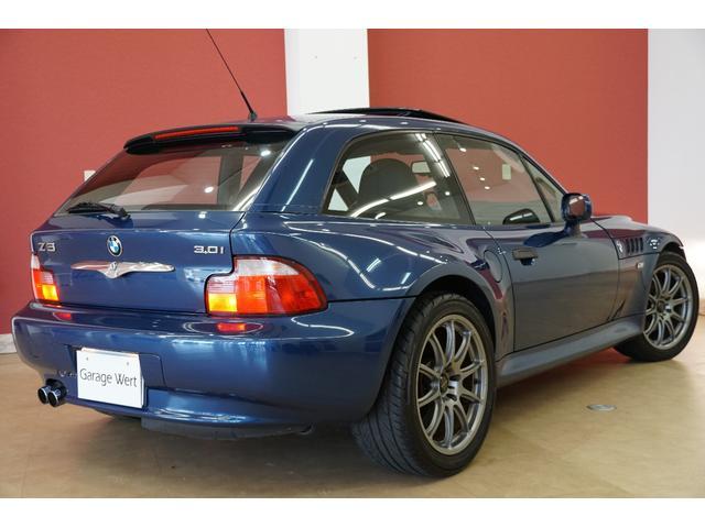 BMW BMW Z3クーペ 3.0i黒革シートプロドライブ17インチアルミサンルーフ