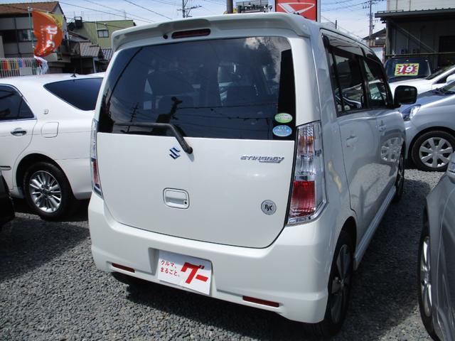 「スズキ」「ワゴンRスティングレー」「コンパクトカー」「静岡県」の中古車6