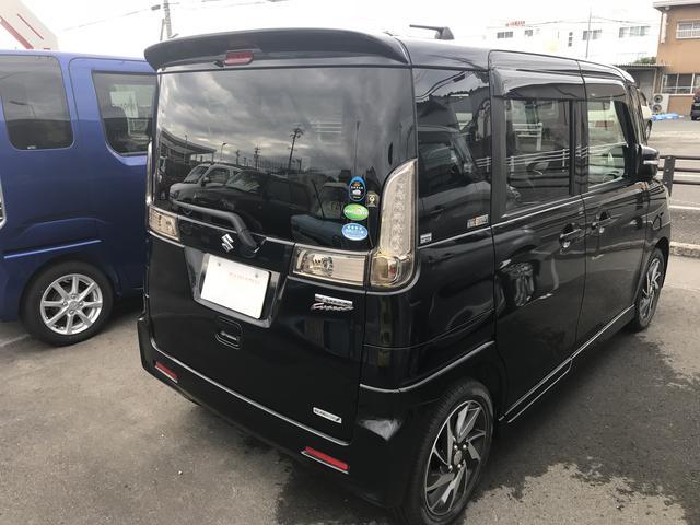 「スズキ」「スペーシアカスタム」「コンパクトカー」「静岡県」の中古車6