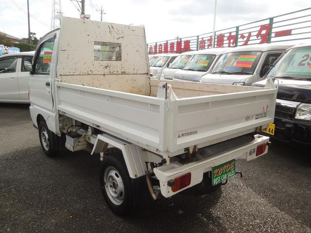 三菱 ミニキャブトラック 鬼金ダンプ 4WD パワステ