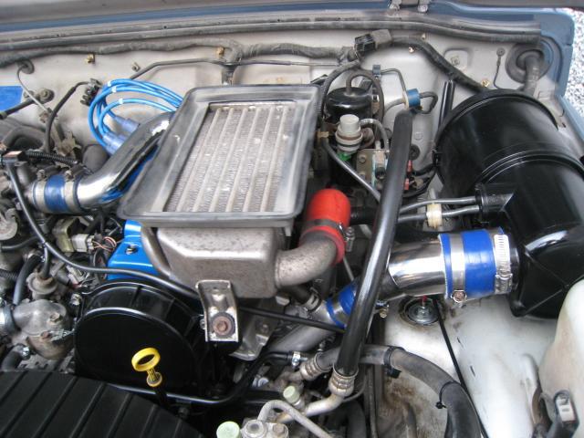 スズキ ジムニー リビルトエンジン搭載ハイフロータービン新品80馬力仕様