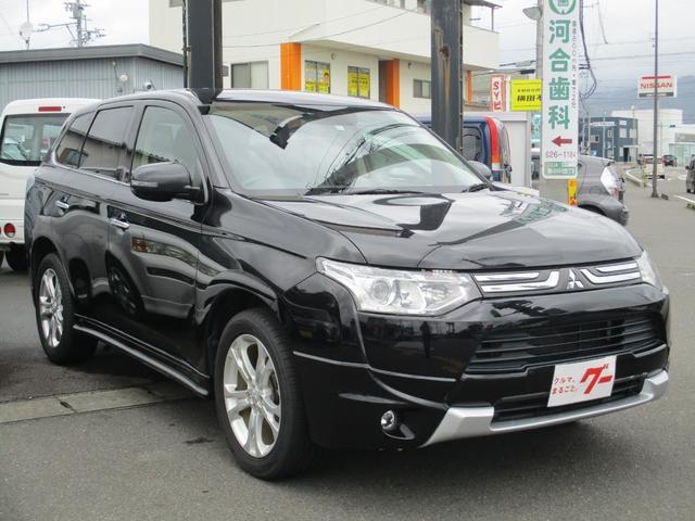 「三菱」「アウトランダー」「SUV・クロカン」「静岡県」の中古車3