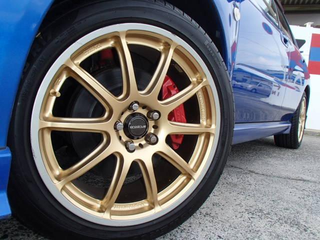 スバル インプレッサ WRX NB-RターボFGKマフラー新品クラッチ交換済