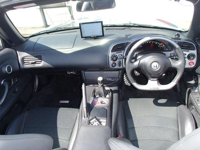 ホンダ S2000 タイプV半革シートVGSリップスポイラ後期アルミ無限マフラー