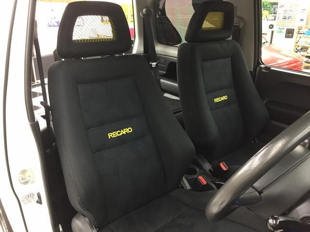 XC 5速マニュアル 両席レカロシート リフトアップ(13枚目)