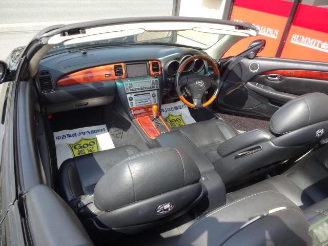 430SCV 黒革 WORK19インチAW RS-R車高調(10枚目)