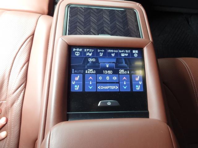 LS500h エグゼクティブ 法人1オーナー車 リアエンター後席モニター 限定オプションL-アニリン本革シート  純正オプション20インチAWブラック仕様 ローダウン マークレビンソン オートトランク ヘッドアップディスプレイ(47枚目)