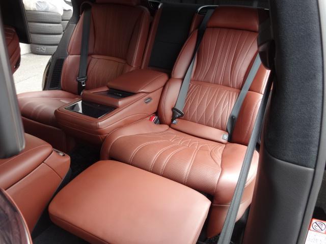 LS500h エグゼクティブ 法人1オーナー車 リアエンター後席モニター 限定オプションL-アニリン本革シート  純正オプション20インチAWブラック仕様 ローダウン マークレビンソン オートトランク ヘッドアップディスプレイ(51枚目)