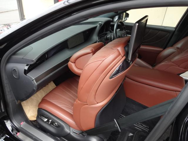 LS500h エグゼクティブ 法人1オーナー車 リアエンター後席モニター 限定オプションL-アニリン本革シート  純正オプション20インチAWブラック仕様 ローダウン マークレビンソン オートトランク ヘッドアップディスプレイ(53枚目)