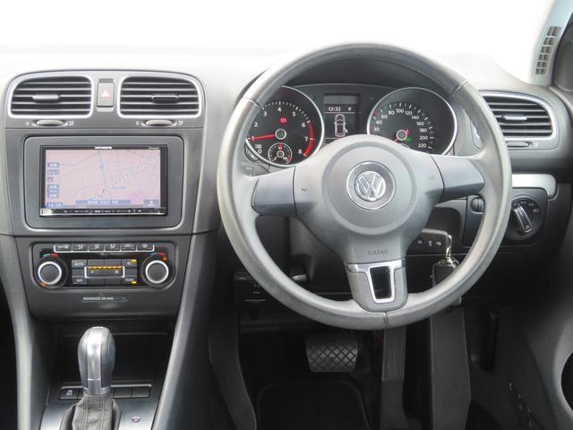 フォルクスワーゲン VW ゴルフ TSIコンフォートライン1オーナー車ナビETCキーレスHID