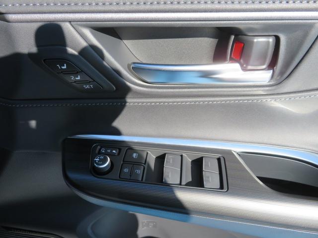 Z レザーパッケージ 登録済未使用車 T-ConnectSDナビTV 調光パノラマルーフ おくだけ充電 純正19AW インナーミラー パワーバックドア トヨタセーフティセンス 保証書取説完備(41枚目)