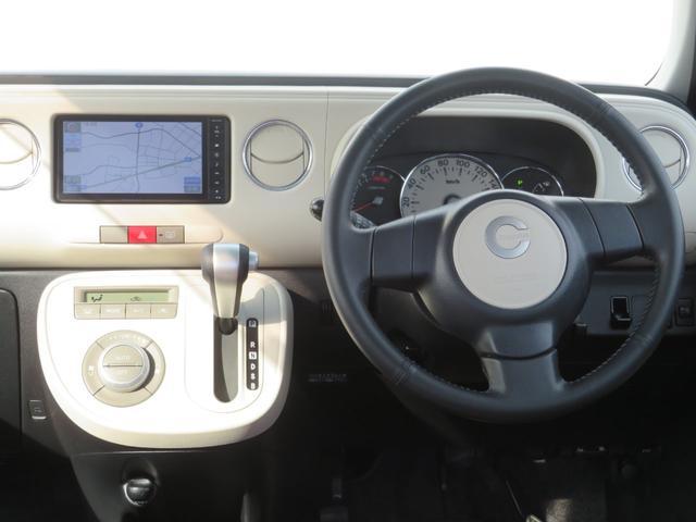 ココアプラスXスペシャルコーデ 純正SDナビ フルセグTV Bluetooth スマートキー エコアイドル クリアテール フォグランプ ルーフレール ウインカーミラー 専用シート ベンチシート(12枚目)