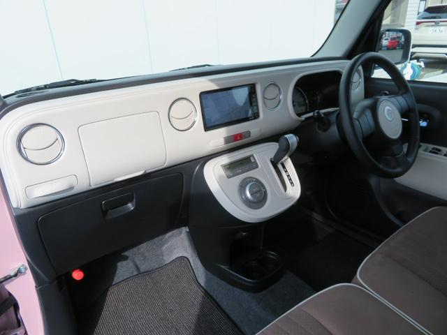 ココアプラスXスペシャルコーデ 純正SDナビ フルセグTV Bluetooth スマートキー エコアイドル クリアテール フォグランプ ルーフレール ウインカーミラー 専用シート ベンチシート(19枚目)