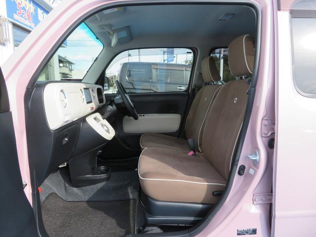 ココアプラスXスペシャルコーデ 純正SDナビ フルセグTV Bluetooth スマートキー エコアイドル クリアテール フォグランプ ルーフレール ウインカーミラー 専用シート ベンチシート(20枚目)