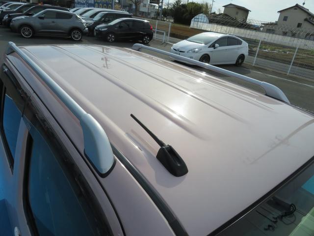 ココアプラスXスペシャルコーデ 純正SDナビ フルセグTV Bluetooth スマートキー エコアイドル クリアテール フォグランプ ルーフレール ウインカーミラー 専用シート ベンチシート(38枚目)