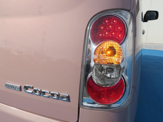 ココアプラスXスペシャルコーデ 純正SDナビ フルセグTV Bluetooth スマートキー エコアイドル クリアテール フォグランプ ルーフレール ウインカーミラー 専用シート ベンチシート(41枚目)