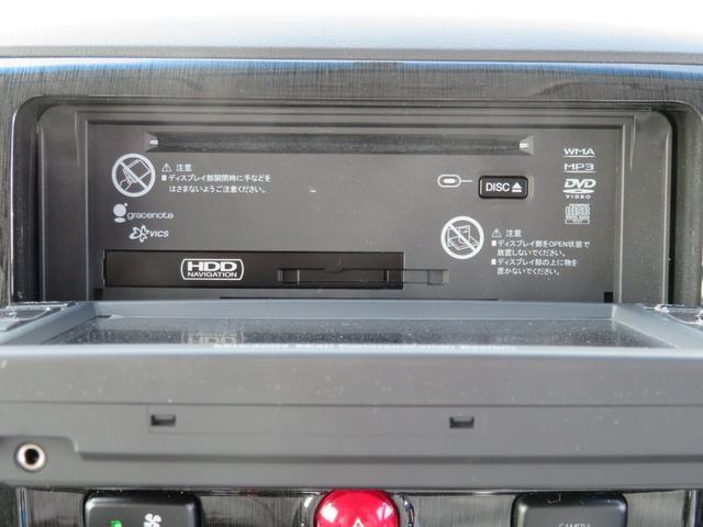 G ナビパッケージ 4WD JAOSマッドガード シートヒーター 純正HDDナビ フルセグTV ミュージックサーバー フロント&サイド&バックカメラ ETC パドルシフト 両側パワースライド キセノン タイミングチェーン(31枚目)