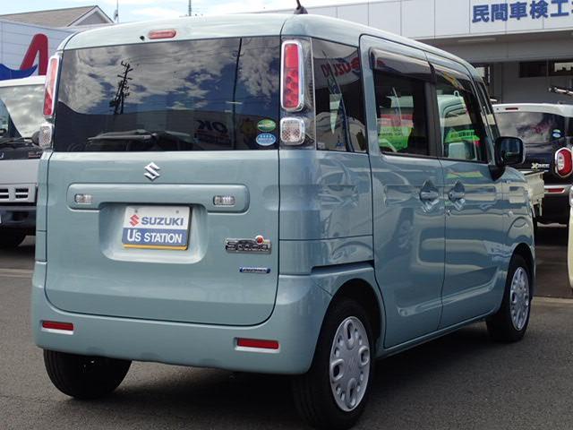 「スズキ」「スペーシア」「コンパクトカー」「静岡県」の中古車4