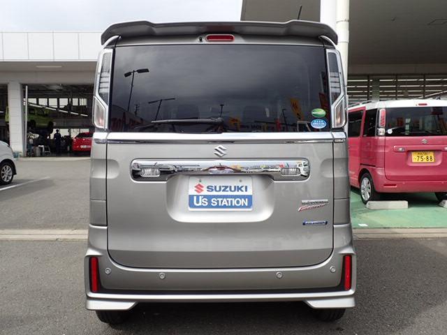 「スズキ」「スペーシアカスタム」「コンパクトカー」「静岡県」の中古車3