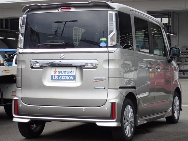 「スズキ」「スペーシアカスタム」「コンパクトカー」「静岡県」の中古車4