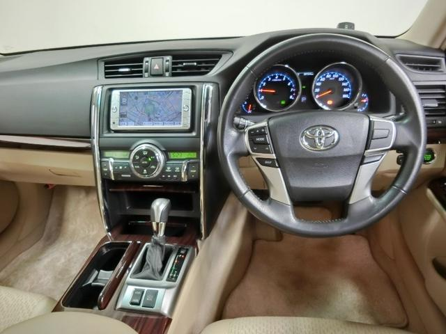 トヨタ マークX 250G リラックスセレクション 純正ナビ ワンオーナー