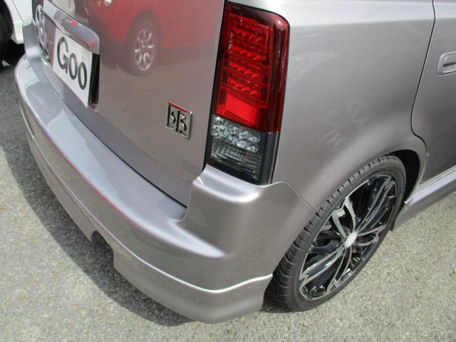 トヨタ bB S Xバージョン ローダウン 17AW LEDテール HID
