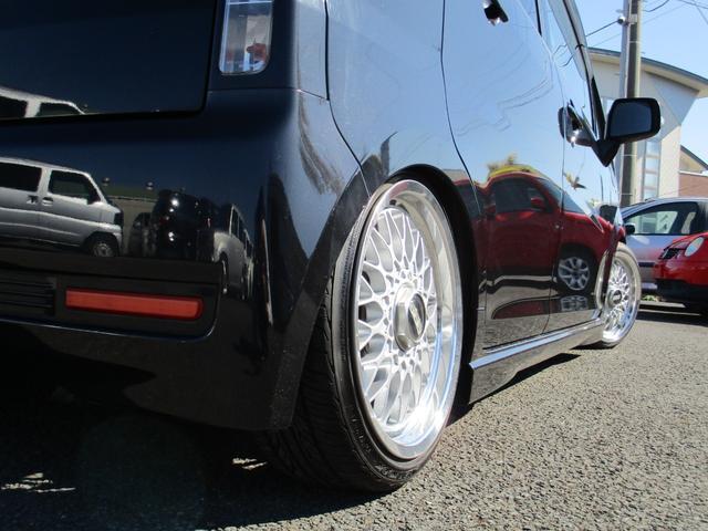 ダイハツ ムーヴ カスタム RS Jラインリアアクスル 車高調 BBSアルミ